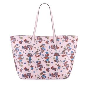 2 Free Gifts! NWT Rebecca Minkoff Pink Floral Tote